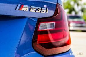 2014 BMW M235i rear emblem