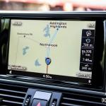 2014 Audi A7 TDI navigation screen