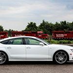 2014 Audi A7 TDI side profile