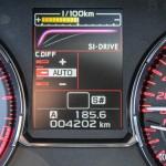 2015 Subaru WRX STi SI-Drive display