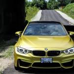 2015 BMW M4 close up