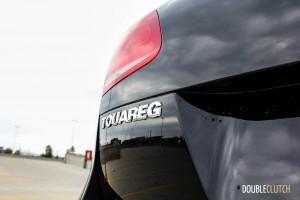 2014 Volkswagen Touareg TDI rear emblem