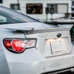 2015 Subaru BRZ rear end