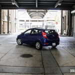 2014 Hyundai Accent GLS rear 1/4