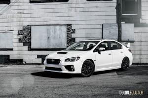 2015 Subaru WRX STi front 1/4