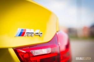 2015 BMW M4 badge