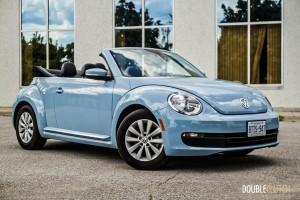 2014 Volkswagen Beetle Convertible front 1/4