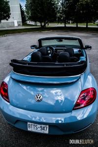 2014 Volkswagen Beetle Convertible rear 1/4