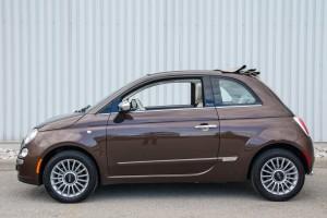 2014 Fiat 500C Lounge side profile