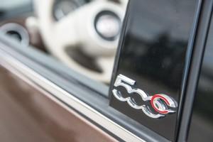 2014 Fiat 500C Lounge side sill