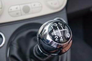 2014 Fiat 500C Lounge shifter