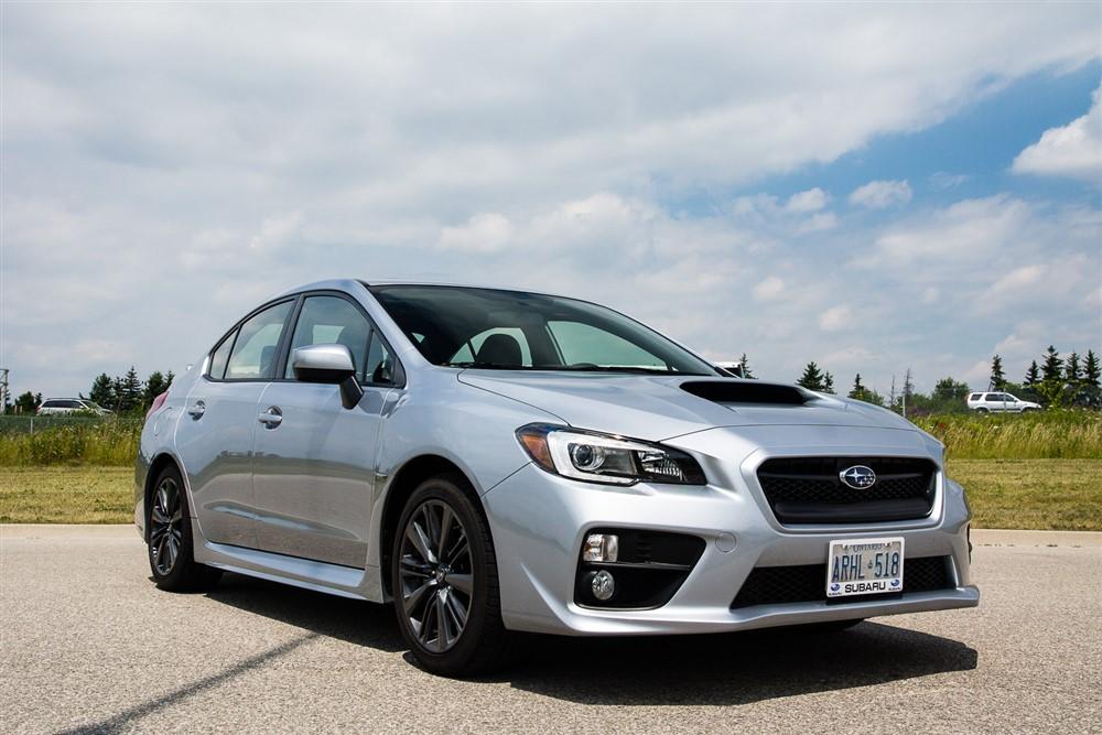 2015 Subaru WRX Sport-Tech