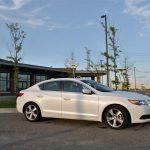 2014 Acura ILX Tech side profile