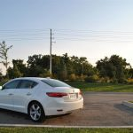 2014 Acura ILX Tech rear 1/4