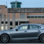2014 Lexus LS460 F-Sport AWD side profile