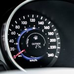 2014 Hyundai Santa Fe XL speedometer