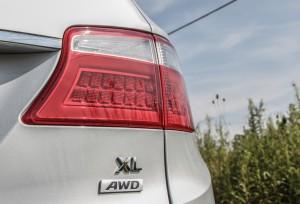 2014 Hyundai Santa Fe XL taillight