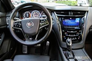 2014 Cadillac CTS Vsport interior
