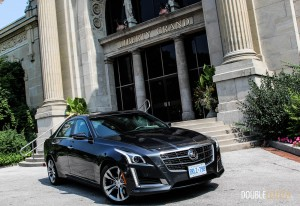 2014 Cadillac CTS Vsport front 1/4