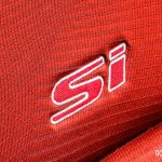 2014 Honda Civic Si seat embroidery