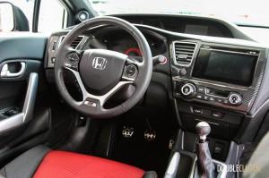 2014 Honda Civic Si interior