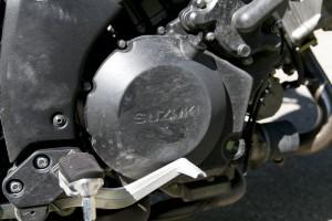 2014 Suzuki V-Strom 1000SE engine