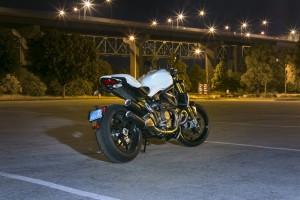 2015 Ducati Monster 1200 S rear 1/4