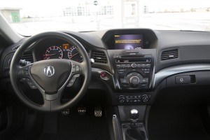 2015 Acura ILX Dynamic interior