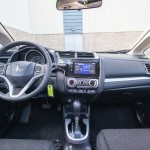 First Drive: 2015 Honda Fit interior