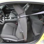 2015 Chevrolet Camaro SS 1LE seat