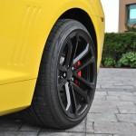 2015 Chevrolet Camaro SS 1LE wheel