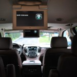 2015 Chevrolet Suburban LTZ rear entertainment