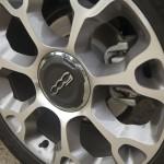 2014 Fiat 500L Trekking wheel