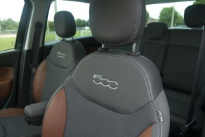 2014 Fiat 500L Trekking seat embroidery