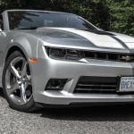 2015 Chevrolet Camaro SS Convertible front 1/4