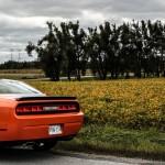 2014 Dodge Challenger R/T Shaker rear distance
