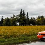 2014 Dodge Challenger R/T Shaker distance