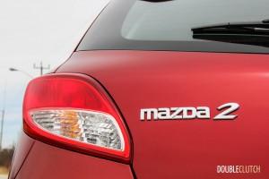 2014 Mazda2 GS emblems
