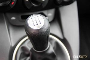 2014 Mazda2 GS shifter