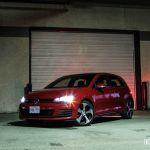 2015 Volkswagen GTI Autobahn front 1/4
