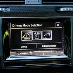 2015 Volkswagen GTI Autobahn drive mode selection
