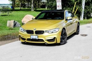 2015 BMW M4 front 1/4