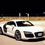 2015 Audi R8 4.2 front 1/4 night