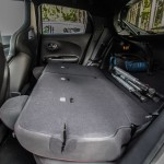 2014 Nissan Juke Nismo RS folded rear seats