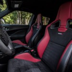 2014 Nissan Juke Nismo RS interior driver's side