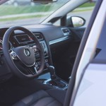 2015 Volkswagen Golf TSI cockpit