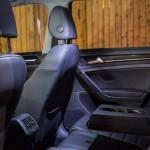 2015 Volkswagen Golf TSI rear seats