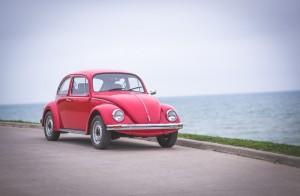Throwback: Volkswagen Beetle Type 1 front 1/4