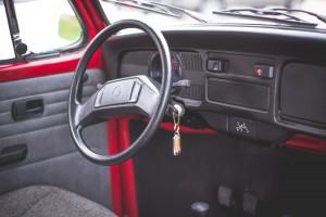 Throwback: Volkswagen Beetle Type 1 cockpit