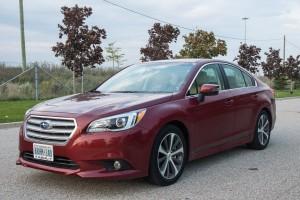2015 Subaru Legacy 3.6R front 1/4